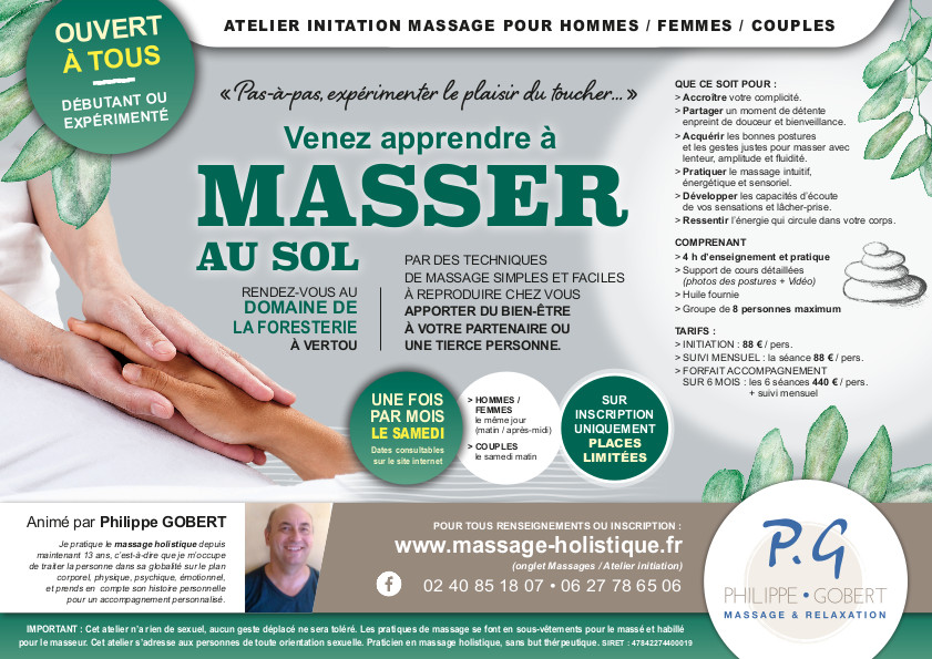 atelier initiation massage